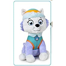 Paw Patrol - Peluche Everest (sentado), Patrulla Canina, 27 cm (Play by Play)