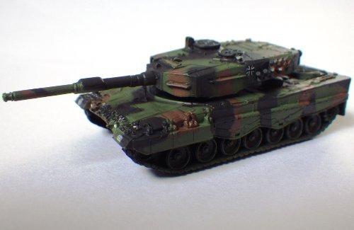 1/144 Mondiale Tank Museum Series 06-110 Leopard 2 A4 NATO camuffamento singolo elemento