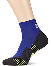 Under Armour Charged Cushion No Show Tab Calcetines, Hombre, Azul (574), M