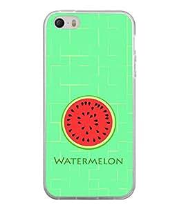 Fuson Designer Back Case Cover for Apple iPhone 4S (Fresh Melon Healthy Summer Boy Girl Male )