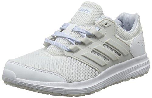huge selection of 0d4a6 da190 Adidas Galaxy 4, Zapatillas de Entrenamiento para Mujer, Blanco (Footwear  WhiteGrey