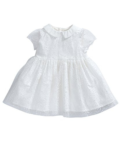 mamas-papas-baby-girls-mamas-and-papas-flocking-spot-off-white-short-sleeve-dress-off-white-3-6-mont