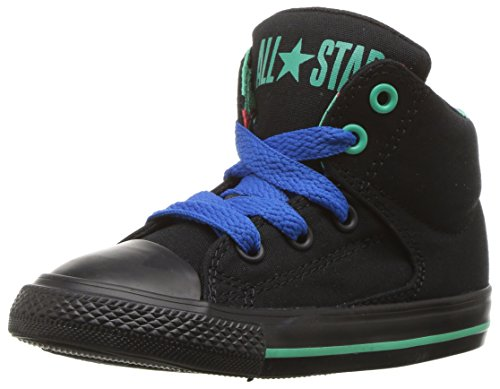 Converse Kids' CTAS High Street-Hi-Black-K
