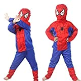 TONY STARK Spiderman Costume for Kids Halloween Cosplay, Small, 2-4 Years