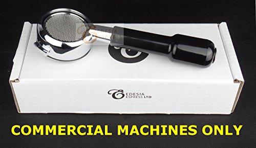 Bodenloser Siebträger für LA PAVONI 58mm - Espressomaschinen - 21g Sieb - 3 Tassen - NUR FÜR GEWERBLICHE KAFEEMASCHINEN thumbnail