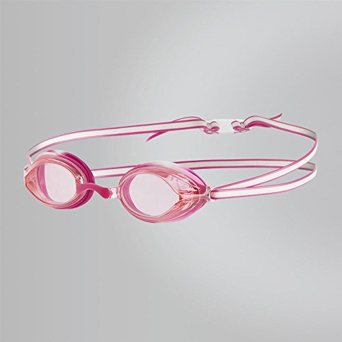 Speedo Kinder Vengeance Goggles, White/Ecstatic Pink, One Size