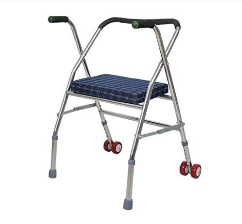 Andador acero mayores discapacitados
