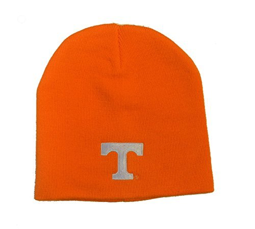 NCAA College Ohne Winter Mütze Hut Knit Totenkopf Toque Gap, Herren Unisex Damen, Tennessee Volunteers - Orange