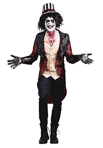 Ringmaster Jacket Costume - Men's Mad House Ringmaster
