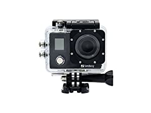 Sandberg 4K Waterproof Action Camera with Wi-Fi - Black