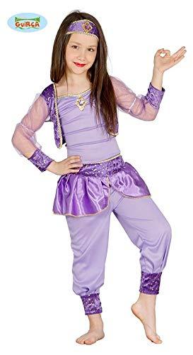 Tänzerin Arabische Kostüm - Guirca orientalische Prinzessin Tänzerin Bauchtanz arabische Kinder Kostüm Gr. 98-134, Größe:110/116