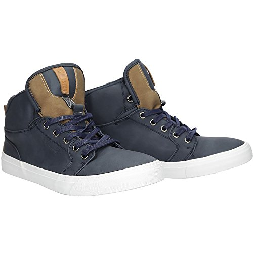 Big Star Herren Klassische Stiefel | Jungen Boots | Flach Casual Sportschuhe | Blau | EUR 41 Big Star Schuhe