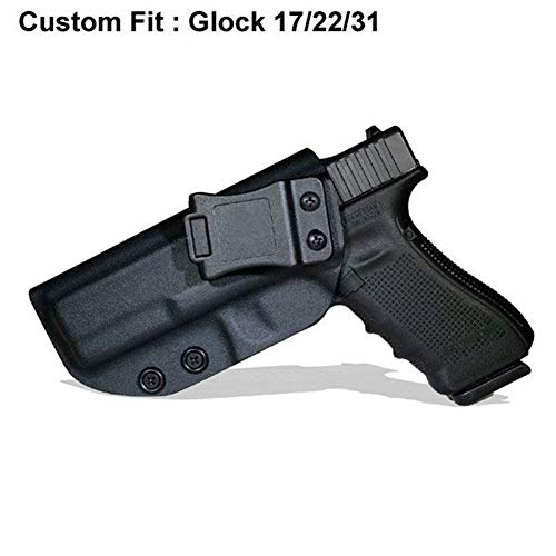 LIUSHUNBAO, Tactical Gun for Glock 19 17 25 26 27 28 43 22 23 31 32 Innenverdeckter Pistolenkoffer Zubehör (Color : Glock17 Black Right) -