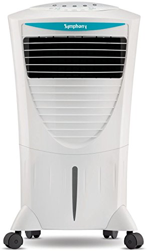 Symphony Hicool i 31-Litre Air Cooler with Remote (White)-For Medium...