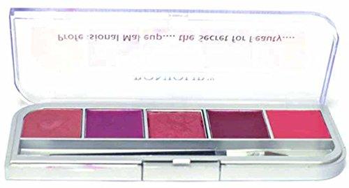Bonjour Paris Professional Lip Palette - Shade 1