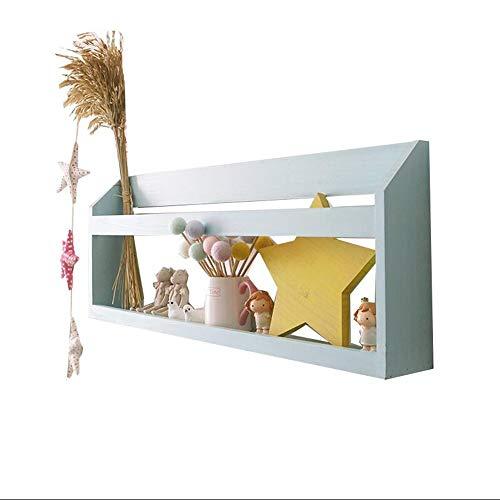 JCNFA Schwimmende Regale Ledge Wandregal Für Wohnkultur Massivholz Wandhalterung Baffle Zeitungsständer - Solid Shelf Kit