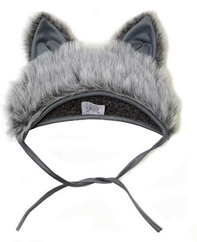 SIA COLLA-S Faschingskostüm Wolf Mütze mit Ohren Kinderkostüm Kappe Hut Wolf Karneval Kostüme für Kinder Festtage Größe S/M Geschenk