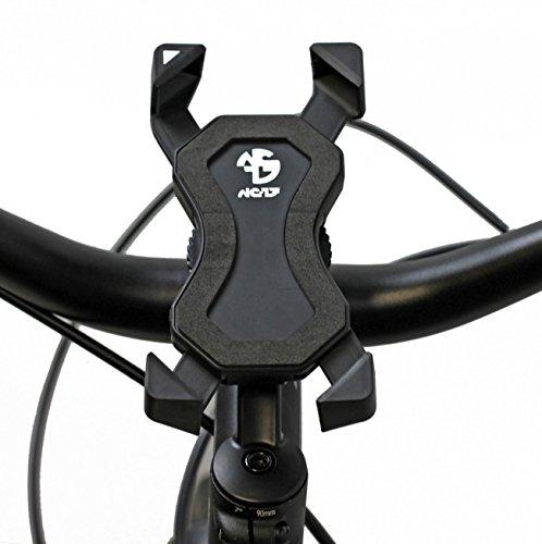 NC-17 Connect 3D Universal Halter #1 / Smartphone und Handy Halterung für Fahrrad, Bike, Motorrad / Handyhalter für iPhone, Galaxy / Halter für Navigation / Halter für Mobiltelefon / Headsetmontage / schwarz