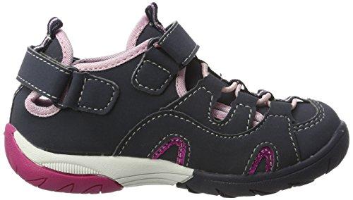 Abbie Mädchen Blau rosa Sneakers Lico marine Vs Oq7RdOZg