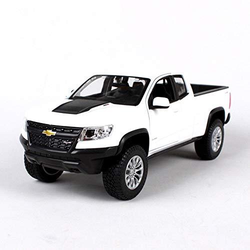 LUCKYCAR 1:24 Chevrolet Colorado Pickup Simulation Automodell,Doppeltüren können geöffnet Werden,Autosammlung, statisches Modell, Metallguss