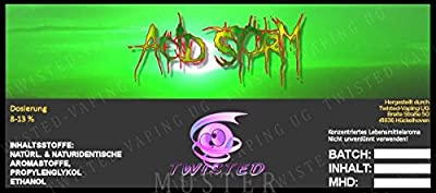 Twisted Aroma Acid Storm von Twisted Vaping