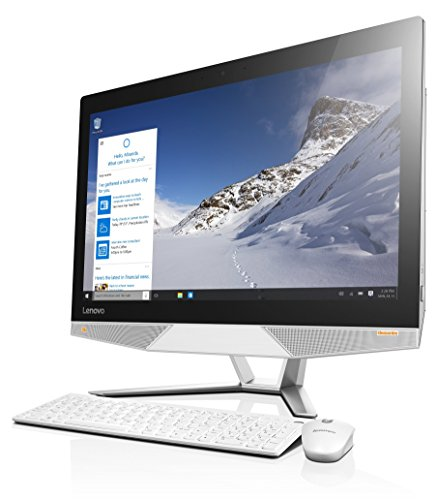 Lenovo Ideacentre 700-24ISH Ordinateur Tout-en-un à 23,8″ Intel core i5 (6400 8GB de RAM Disque dur 1TB NVIDIA GeForce GTX 950A 2GB Windows 10 Home)-Teclado espagnol QWERTY-Blanc