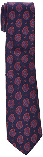 Scalpers Indian TIE, Corbata para Hombre, Navy, UNICA