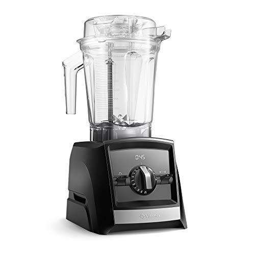 Vitamix Ascent 2500i Batidora vaso, 1400 W, 2 litros, Libre BPA, Negro