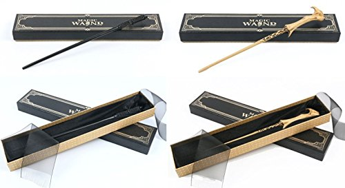 ry Potter Wand Replicas: Severus Snape + Lord Voldemort - Prop Collectibles (Harry Potter Severus Snape Kostüm)