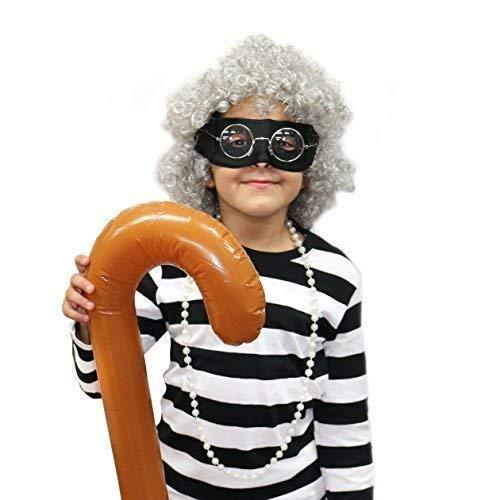 Gangster Kinder Oma / Oma Maskenkostüm Satz (WELT BUCH WOCHE / ()
