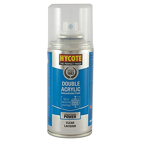 Hycote Clear Lacquer Touch Up Aerosol, 150ml