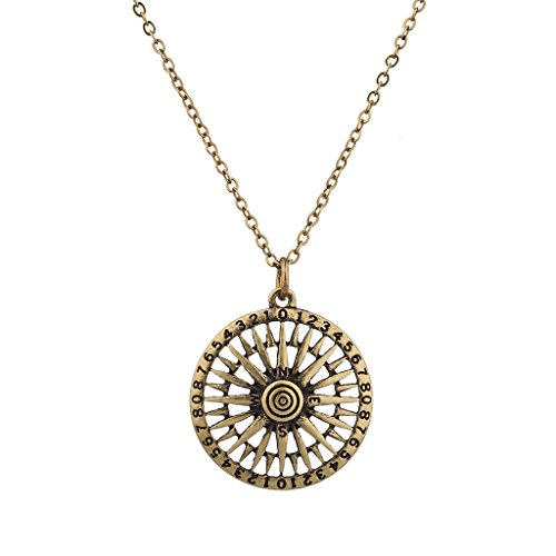 lux-accessories-north-south-east-west-tribal-antique-compass-pendant-necklace