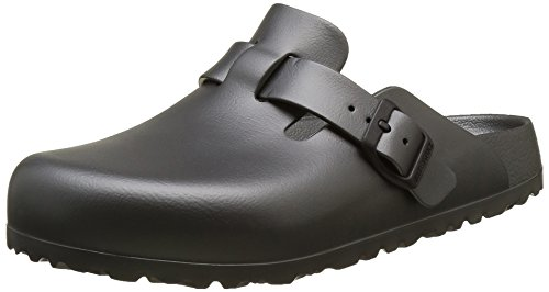 Birkenstock boston eva, zoccoli donna, grey (metallic anthracite), 39 eu