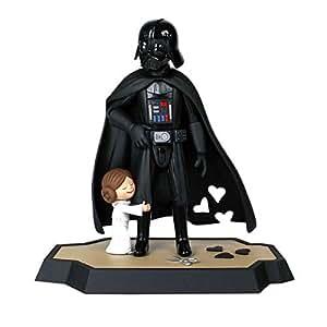 Star Wars - Set statuette et livre Darth Darth Vader's Little Princess 25 cm