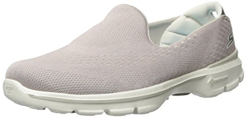 Skechers Performance Womens Go Marche 3 Dominate Walking Shoe Natural