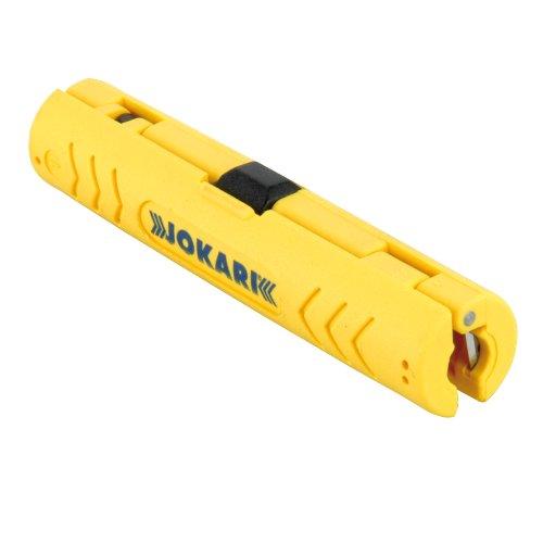 Preisvergleich Produktbild Sonstige 40102 Koaxial-Abisolierer Jokari, gelb