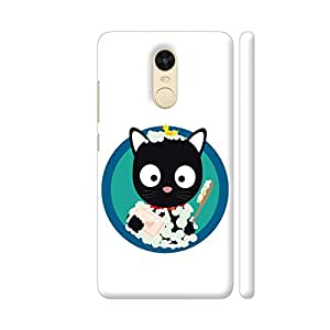 Colorpur Bathing Cat with Bath Foam Printed Back Case Cover for Redmi Note 4