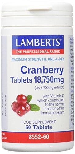 Foto de Lamberts Arandano Rojo 18750mg - 60 Tabletas