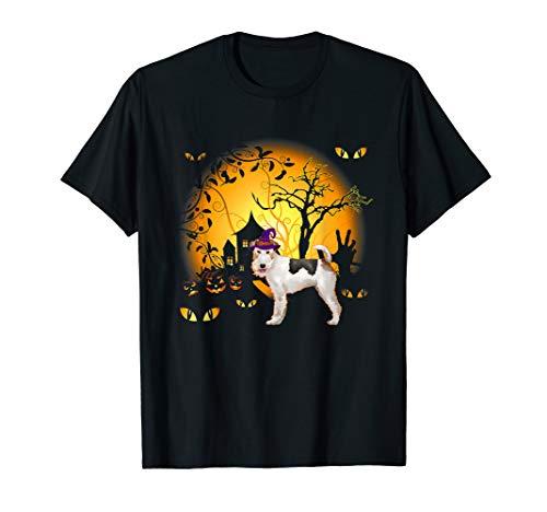 Lustiges Fox Terrier Halloween Kostüm Tee - Fox Hut Kostüm