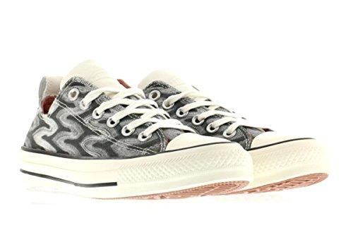 Converse Unisex-Erwachsene Zzz Turnschuhe Grau-Schwarz-Weiß
