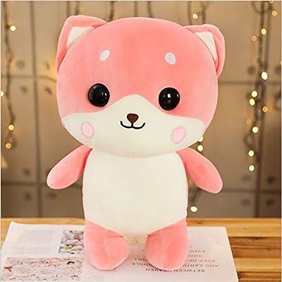 WHKJ Software de Dibujos Animados Mascota Perro niños muñeca Creativa Almohada Almuerzo Descanso Peluche Juguete Almohada Aniversario de Navidad Regalo de cumpleaños sofá cojín Adornos 45 cm por WHKJ