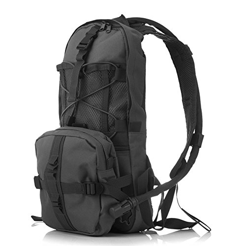 blueidea® 3L Hydration Packungen Tactical Fahrrad Camelbak Wasser Blase Tasche Assault Rucksack Camping Wandern Tasche Wasser Tasche Schwarz