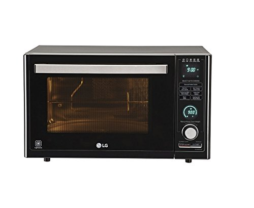 LG 32 L Convection Microwave Oven (MJ3286BFUM, Black)
