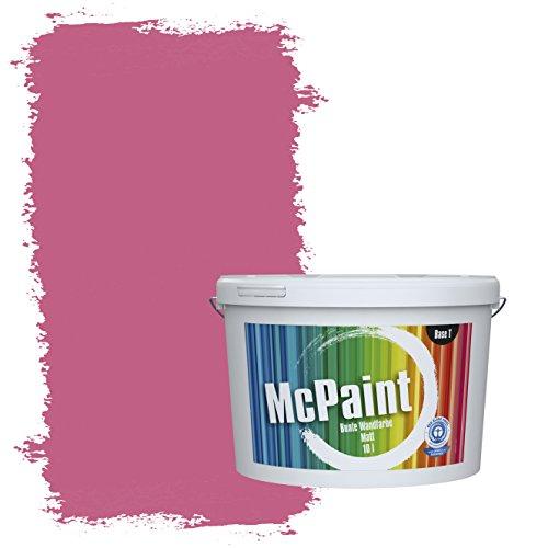 McPaint Bunte Wandfarbe Pink - 5 Liter - Weitere Violette Farbtöne Erhältlich - Weitere Größen Verfügbar