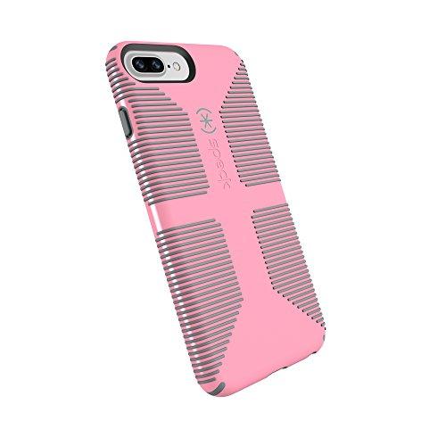 Shell Grip Handyhülle für iPhone 8 Plus/7 Plus/6S Plus/6 Plus, Island Pink/Gravel Grey ()