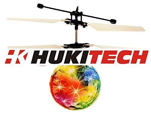 NEU! Induction Copter - Fliegender Ball mit LED Beleuchtung (Handsteuerung) Faszinierende Lichteffekte - Modernes RC Spielzeug handgesteuert mit...