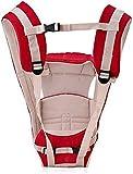 ROYALE HI DESIGNTM Baby Carrier Shoulder Belt Sling Backpack Baby Holding Strap Adjustable Carry Bag Baby Carrier (Red, Front Carry Facing Out) for 4-12 Month Pack Of 1
