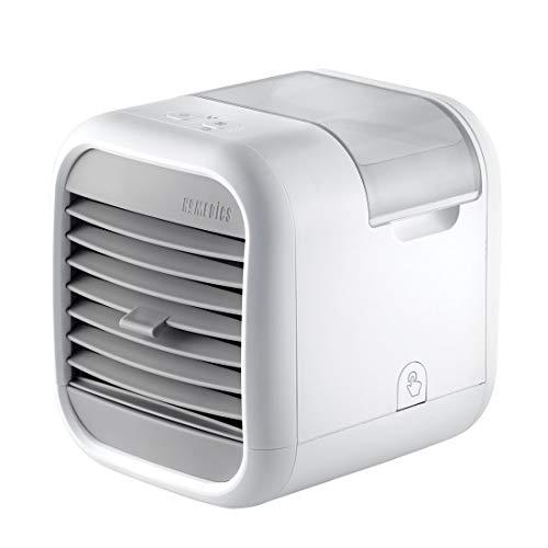 HoMedics MyChill Luftkühler, Abkühlung bis zu 7°, 1.8m Kühlbereich, 2 Geschwindigkeitsstufen, Einstellbare Winkel, Sauberer Wassertank Technokogie, Ideal fürs Büro oder Zuhause
