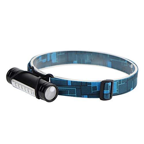 LED kopflampe 6 Led 3000lumens Min Scheinwerfer 3-Modus wiederaufladbare Scheinwerfer Power Bank Taschenlampe Angeln Jagd Frontal Laterne Fackel