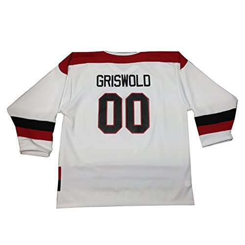 Clark Griswold #00 Hockey Jersey-Mens Large